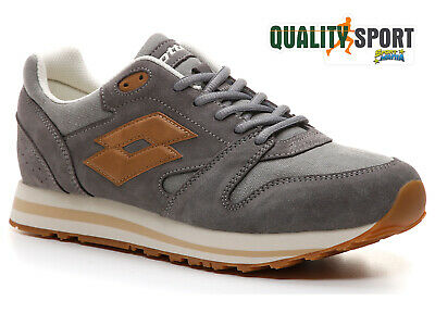 separation shoes 89e3f a3882 Lotto Trainer XI CVS Grigio Scarpe Shoes Uomo Sportive Sneakers L57961 1IV  2019