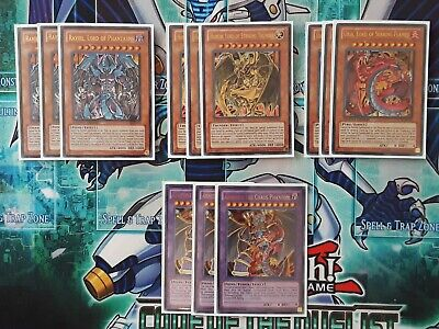 Yugioh Sacred Beasts Deck Core Raviel Uria Hamon Armityle Sleeved And Deck Box