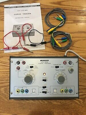Leader LTC-905 Curve Tracer. New with original box, & accessories!