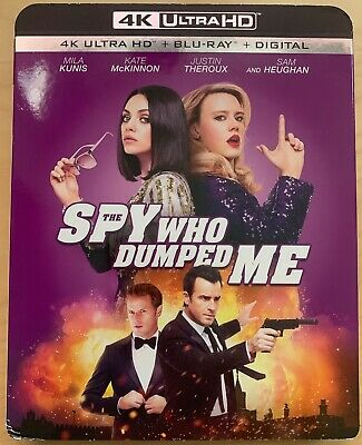 The Spy Who Dumped me 4K Ultra HD+Bluray New NO DIGITAL with Slipcover