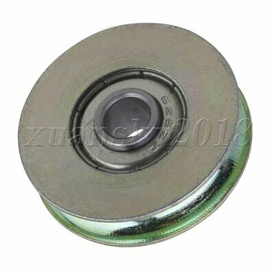 U Bearing Guide Roller Pulley Rail Groove Idler Wheel 6.4x32x8mm