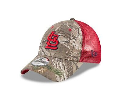 on sale fde01 85252 St. Louis Cardinals New Era Realtree Trucker Mesh 9Forty Adjustable hat -  Camo