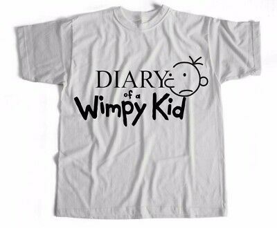 a3ae6d77c Diary of a Wimpy Kid Film Movie World Book Day Sci Fi Funny Comedy T Shirt