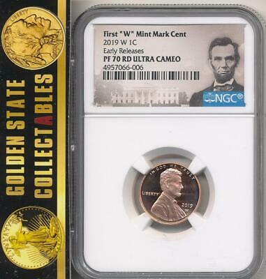 2019 W Penny NGC PF70 RD Ultra Cameo EARLY Releases Lincoln Label