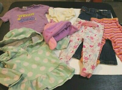 Toddler Girls 24 Mos / 2T Clothing Small Lot 7 pc