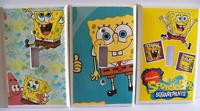 Switchplate Covers SPONGEBOB SQUAREPANTS ~ Choose Your Plate Light Switch Cover