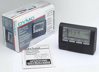 Dymo Datemark Electronic Date Time Stamp Model 47002