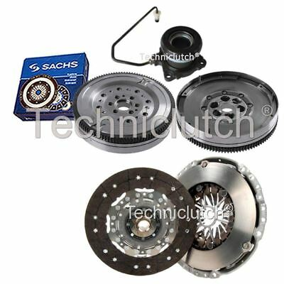 2 Part Clutch Kit And Sachs Dmf With Csc For Vauxhall Astra Hatchback 1.9 Cdti