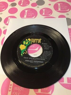 """ENGELBERT HUMPERDINCK: """"THERE GOES MY EVERYTHING"""" / """"YOU LOVE""""1967 PARROT 45rpm"""