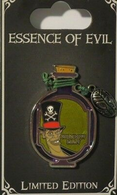 Disney Wdw Dlr Essence Of Evil Villain Princess & The Frog Dr Facilier Le Pin