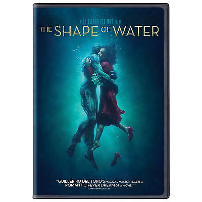 The Shape of Water (DVD, 2018) BRAND NEW, Guillermo Del Toro, *FREE SHIPPING!