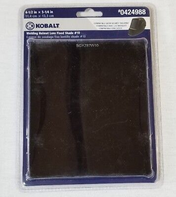 NEW - Kobalt Welding Helmet Lens Fixed Shade #10 - #0424988
