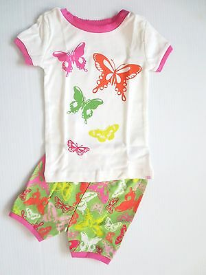 Baby GAP Girls Butterfly Shorts Pajamas - Size 2T - NWT