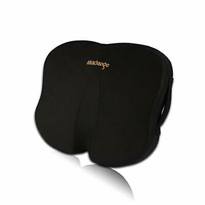 Maxchange Office Chair Seat Cushion, 100% Pure Memory Foam Butterfly Shape Pad t