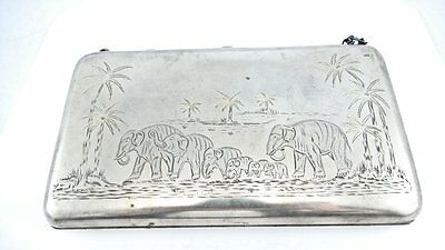 Superb Antique Russian Imperial 84 Silver Theater Purse Fine Chasing Mint Cond