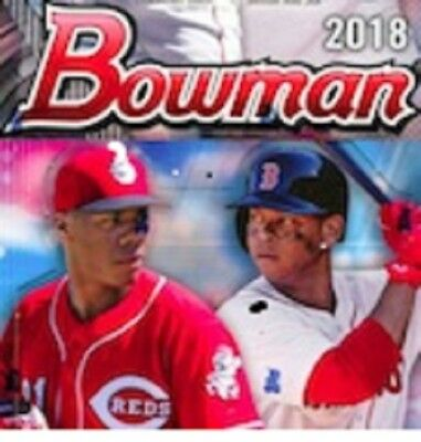 2018 Bowman Paper Prospects Complete Your Set, You Select The Cards Needed
