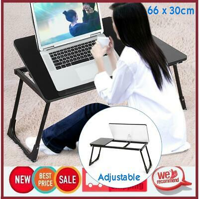 Laptop Stand Desk Table Tray Sofa Computer Portable Adjustable Bed Serving Tray