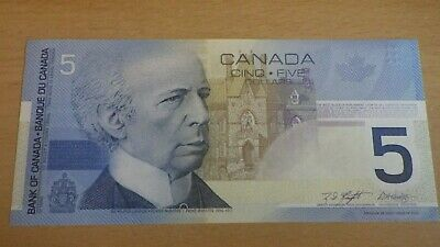 Canada BC-62aA-i 2003 $5 Replacement HNM 2471021  ChUnc
