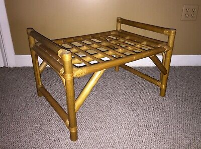 Mid Century Milwaukee County Stadium Folding Redwood Benches Braves Brewers,