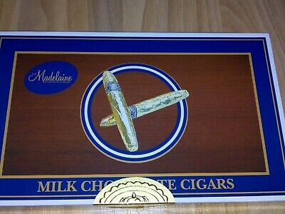 24 pcs. Milk Chocolate Cigar, 21g each, Gift Box Packed, Product of USA