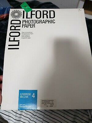 Ilford Photographic Paper  Double Weight ILFOBROM 4 IB 4.24K opened 11x14