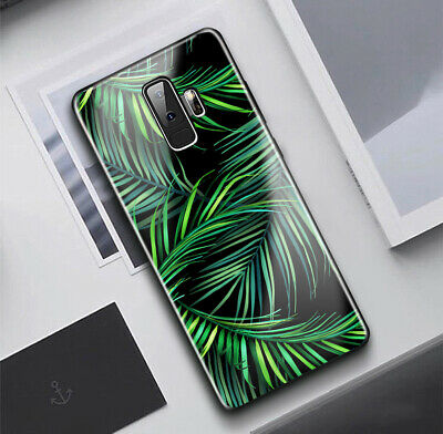 For Samsung Galaxy A8/J2 Pro 2018/J8/J5 Pro Case Green Summer Print Cover