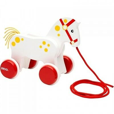 Brio Pull Along Horse  - NEW suitable for 19 months Plus Toddler