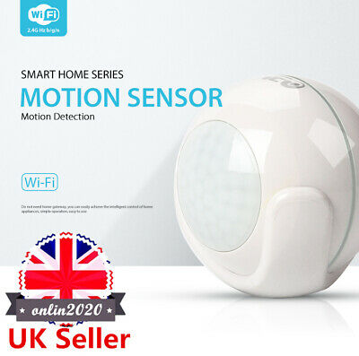 Smart WiFi PIR Motion Sensor APP Remote Voice Control for Google IFTTT Alexa UK