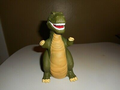 VINTAGE 1988 LAND Before Time SHARPTOOTH Hand Puppet Pizza Pizza Hut Nice  Shape