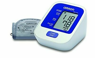 Omron Hem-7124 Automatic Upper Arm Blood Pressure & Pulse Rate Monitor