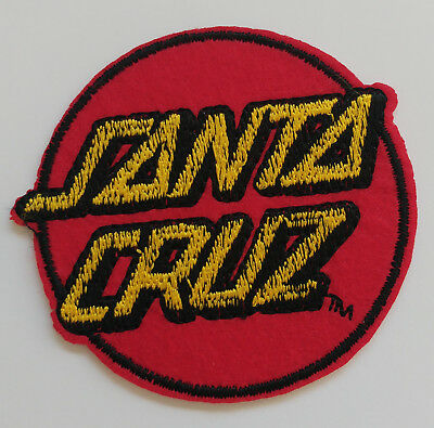 SANTA CRUZ Embroidered Iron On / Sew On Patch