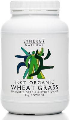 Synergy Natural Organic Wheat Grass Powder 1kg