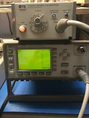 HP / Agilent / Keysight E4418B EPM Series RF Power Meter TESTED S/N US38470497