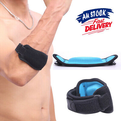 Fitness Elbow Support NEW Forearm Protection Band Tendon Tennis Brace Strap Golf