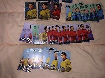 Dave And Busters Star Trek Cards