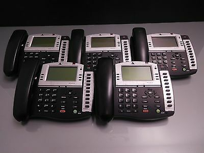 Lot of 5x Altigen AltiTouch AT510 Display Phones NO POWER SUPPLIES