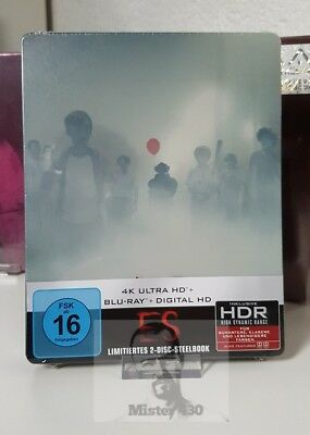 IT (2017) 4K UHD HDR & Blu ray limited Exclusive Steelbook uncut NEW Germany