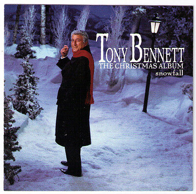 Snowfall Tony Bennett Christmas Album CD jazz vocal Have Yourself A Merry Little