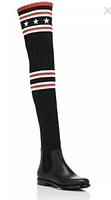 13641831181 GIVENCHY  STORM KNIT Over The Knee Boots  - US 5 IT35 - Givenchy ...