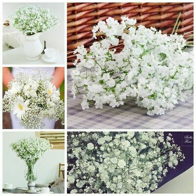 Gypsophila Artificial Plastic Flowers Plant Hotel Party Home Wedding Decorations