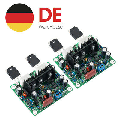 2.0 Channel MX50 SE Power Amplifier Kit Verstärker-Bausatz 100W+100W HiFi DIY