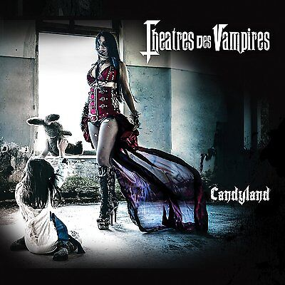 THEATRES DES VAMPIRES - Candyland / New CD 2016 / female fronted Gothic Metal
