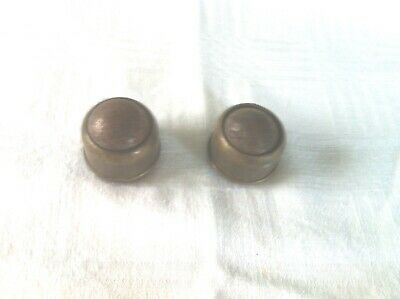 Two a Pair rare, early C.19 th. brass ball Castors in original condition.