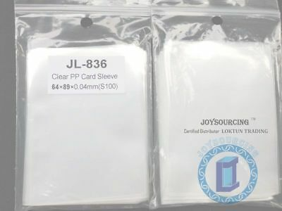Card Sleeves JL-836(64x89-S100) for 62x87 Board Game card protectors JOYSOURCING