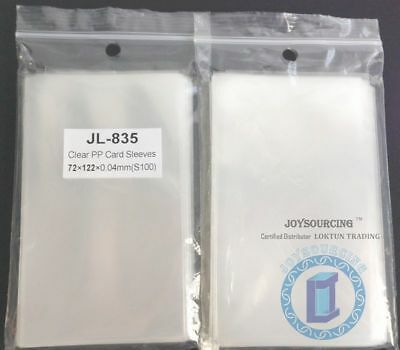 Card Sleeves JL-835(72x122-S100) for 70x120mm WOTR-CE Board Games JOYSOURCING