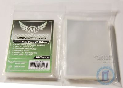 100pcs/pack MDG-7041 standard CCG/MTG card sleeves for 63.5x88 board game cards
