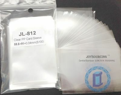 Card Sleeves JL-812(59.5x91-S100) for 57.5x89 USA Chimera Board Game JOYSOURCING