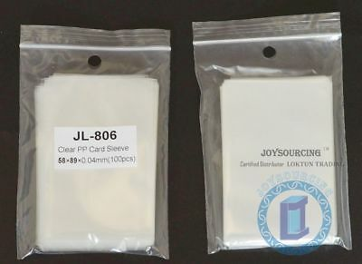 Card Sleeves JL-806(58x89-S100) for 56x87 Standard USA Board Games JOYSOURCING