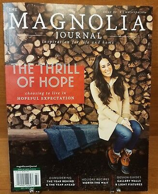 THE MAGNOLIA JOURNAL Magazine,Issue 9, Inspiration for Life and Home, BRAND NEW