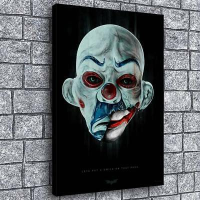 "Best The Joker Image HD Canvas Print Painting Home Decor Picture Wall Art 16""x24"
